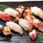 いけす・和食処 寿司やす 旬のにぎり(8カン)¥2,080